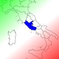 Italien_Karte_Latium