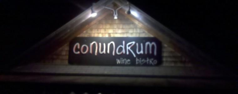 Conundrum wine bistro, Freeport, ME