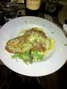 Conundrum - Butternut Squash Tortelacci Bolognese