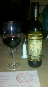"""Zinfandel """"Temptations"""""""