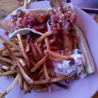 Fish-Taco 1 @ The Gloucester Brewing Company