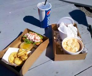 Snack at Cape Neddick